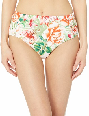 Lucky Brand Women's High Waist Hipster Bikini Swimsuit Bottom
