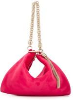 Jimmy Choo Callie velvet bag