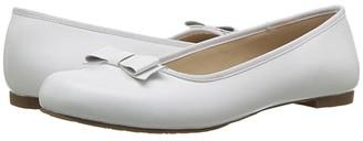 Elephantito Camille Flats (Toddler/Little Kid/Big Kid) (White) Girls Shoes