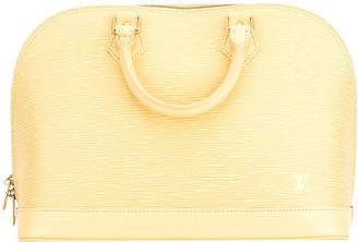 Louis Vuitton Yellow Epi Leather Alma Pm