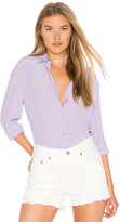 Equipment Essential Button up in Lavender