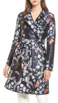Ted Baker Women's Kyoto Gardens Double Breasted Coat