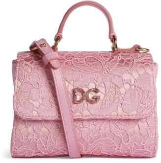 Dolce & Gabbana Kids Lace Shoulder Bag