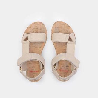 Bobo Choses Raw Velcro Sandals Turtledove - 27