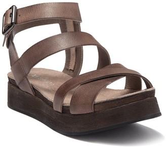 Antelope Multistrap Leather Sandal