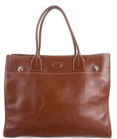 Tod's Leather Expandable Tote