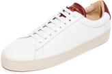 Zespà ZSP 4 SPRT Leather Sneakers