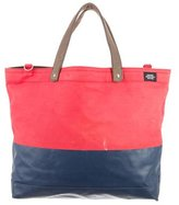 Jack Spade Dipped Coated Canvas Tote