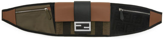 Fendi Black Forever Baguette Belt Bag