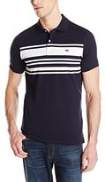 Dockers Engineered Chest Stripe Cotton Jersey Polo