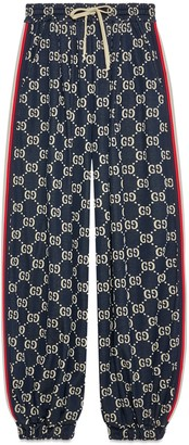 Gucci GG jersey track bottoms