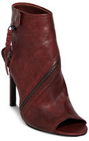 Dolce Vita Hal Leather Stiletto Heel Boots