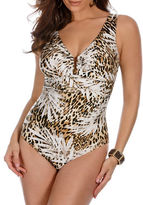 Miraclesuit Sheer Safari Palisades One-Piece Swimsuit