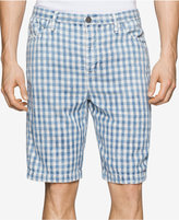 Calvin Klein Jeans Men's Check-Print Shorts