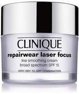 Clinique Repairwear Laser Focus SPF 15 Line Smoothing Cream - Very Dry to Dry Combination, 1.7 oz.