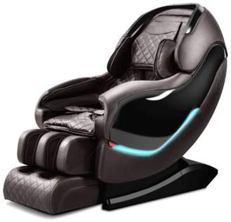 RL900 3D Sl-Track Reclining Adjustable Width Heated Full Body Massage Chair Latitude Run Upholstery Color: Coffee
