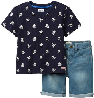 Hudson French Terry Tee & Shorts Set