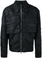 Odeur - 'Box' camouflage jacket - unisex - Nylon - S