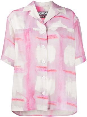 Jacquemus Le Chemise Vallena shirt