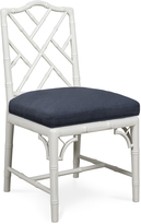 Jonathan Adler White Chippendale Dining Chair