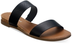 Sun + Stone Easten Slide Sandals, Created for Macy's Women's Shoes
