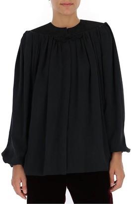 Saint Laurent Long Sleeves Blouse