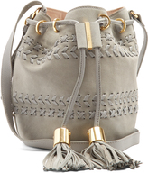 See by Chloe Vicki small suede and leather bucket bag