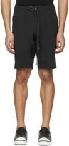 Attachment Black Slim Shorts