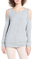 BP Women's Cold Shoulder Sweatshirt