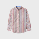 Paul Smith Boys' 2-6 Years Signature Stripe Cotton 'Per' Shirt