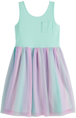 Girls 4-12 Jumping Beans Tulle Dress