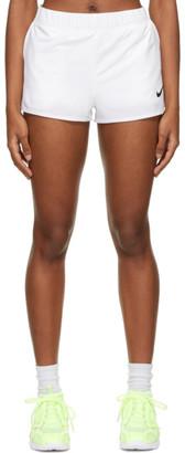 Nike White NikeCourt Flex Shorts