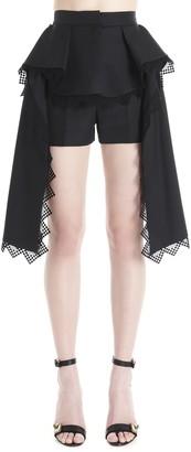 Alexander McQueen Lace Detail Shorts