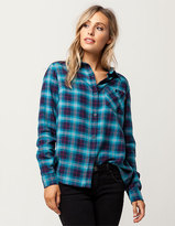 Burton Grace Womens Plaid Shirt