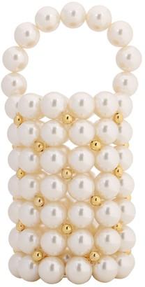 VANINA The Pearl Comino Top Handle Bag