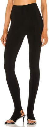 Norma Kamali Legging With Footie