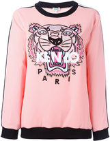 Kenzo Tiger sweatshirt - women - Cotton/Polyamide/Polyester/Triacetate - XS