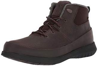 Bogs Men's Freedom Lace Mid Waterproof Insulated Winter Snow Boot