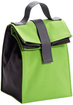 Container Store Lunch Sack Green/Grey