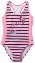 Juicy Couture Pink Stripe One-Piece - Girls