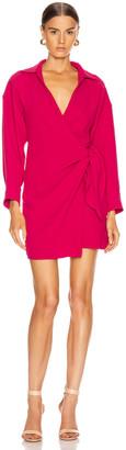 IRO Musea Dress in Fuchsia | FWRD