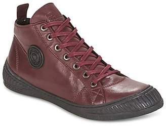 Pataugas ROCKER women's Shoes (High-top Trainers) in Red