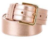 Dolce & Gabbana Metallic Logo Belt