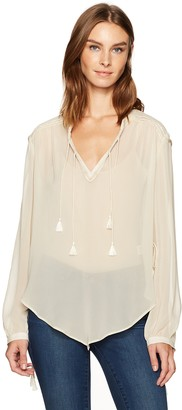 Haute Hippie Women's Goldie Blouse