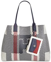 Tommy Hilfiger TH Reversible Tote Top Handle Bag
