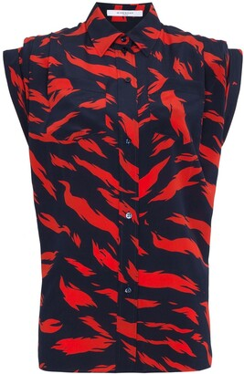 Givenchy Tiger Print Shirt