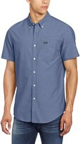 RVCA Men's That'll Do Oxford Short Sleeve Woven Shirt