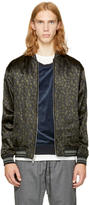 3.1 Phillip Lim Reversible Black Leopard Souvenir Jacket