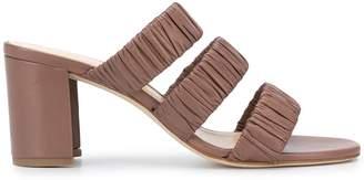 Chloé Gosselin Delphinium ruched strap sandals