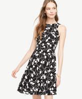 Ann Taylor Ginkgo Pocket Flare Dress